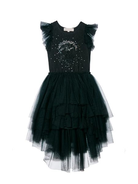 WICKED SKULL TUTU DRESS - BLACK