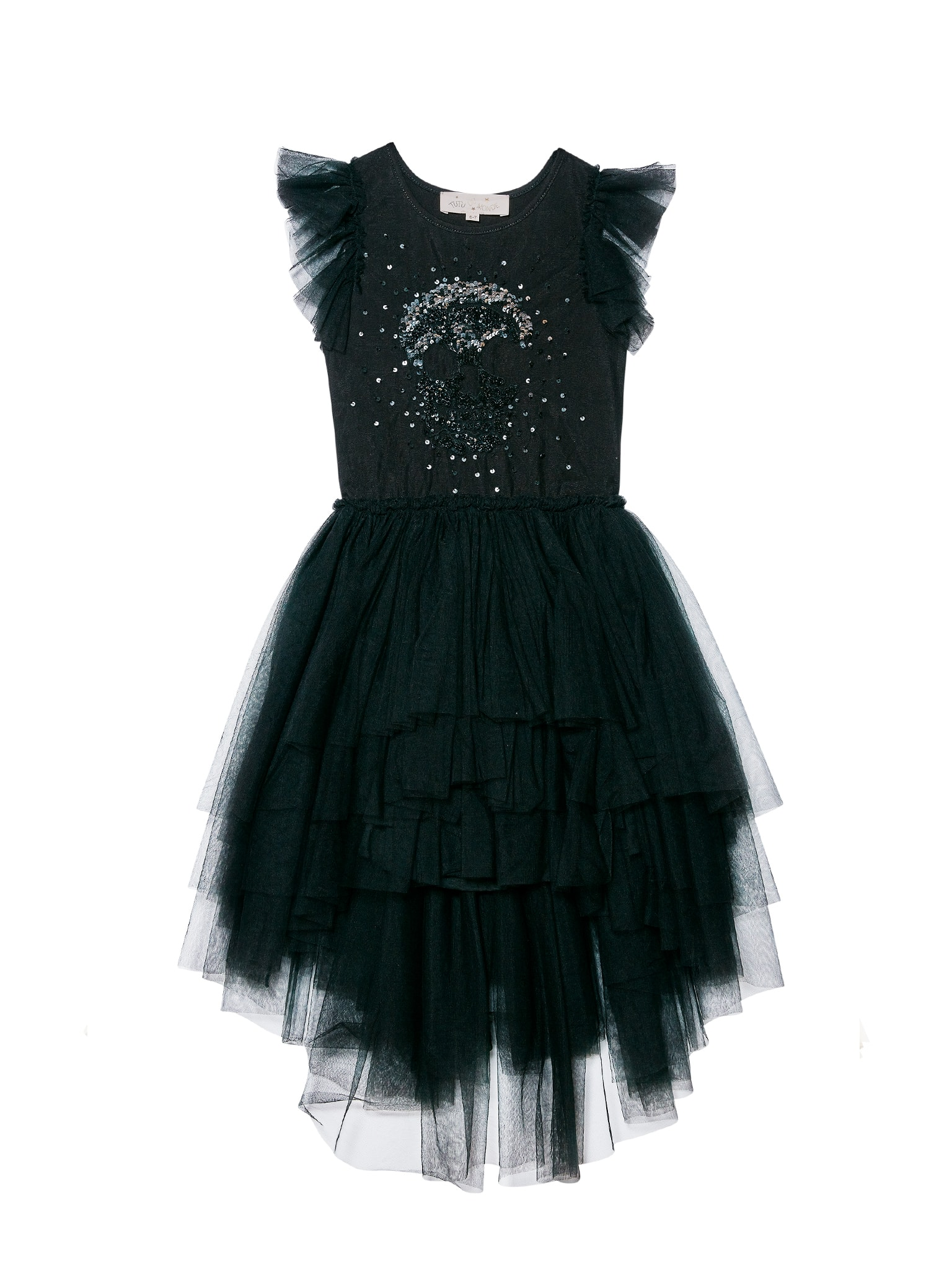 Tdm3736 embroidered dress black 01 min