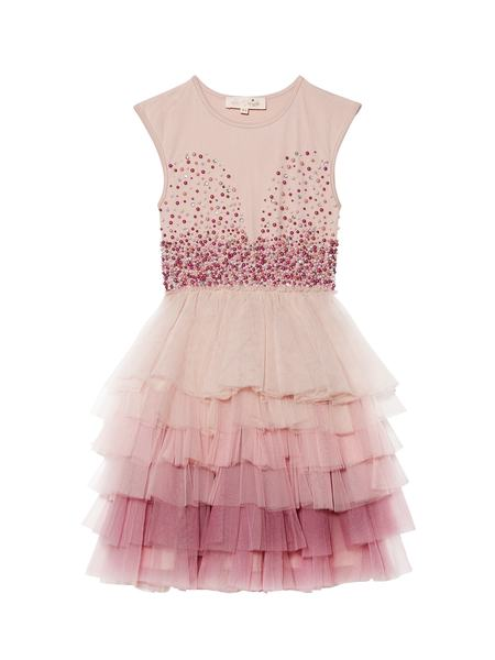 MOMENT TO SHINE TUTU DRESS - DUSTY PINK