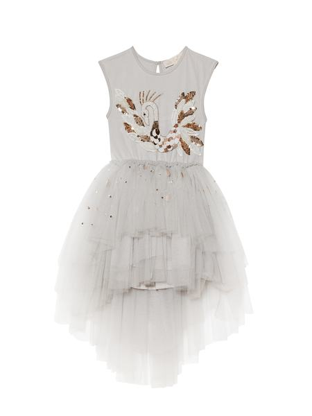 CHERISHED SWAN TUTU DRESS - DOVE