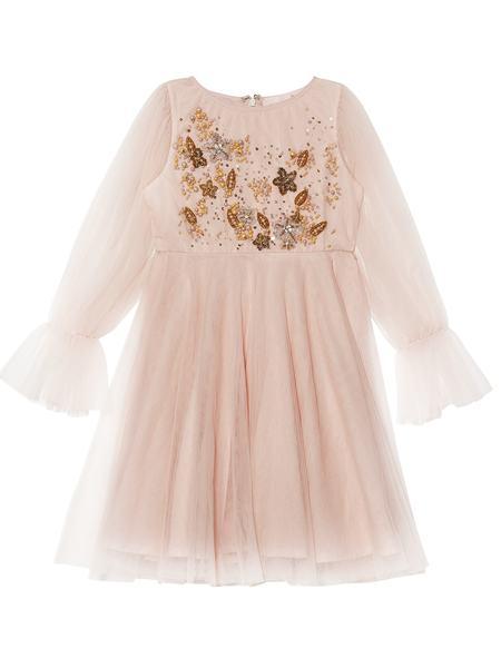 LADY SHAY DRESS - POWDER