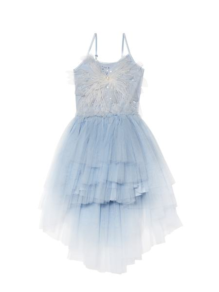 LET IT SNOW TUTU DRESS - CRYSTAL BLUE