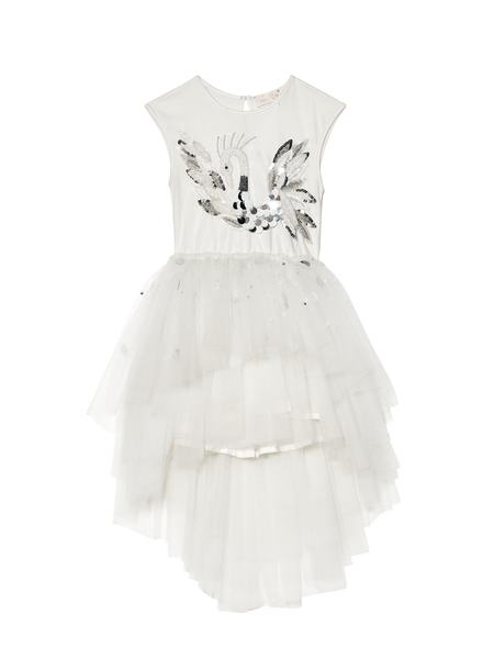 CHERISHED SWAN TUTU DRESS - MILK