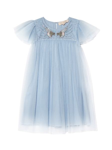 ANGEL MIST DRESS - CRYSTAL BLUE