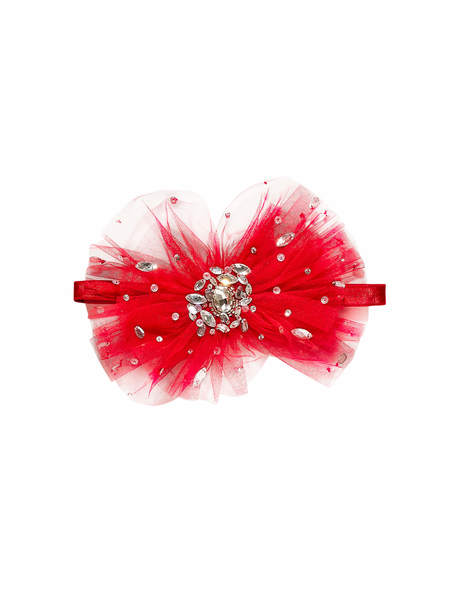 GLISTENING JEWELS HEADBAND - CHERRY
