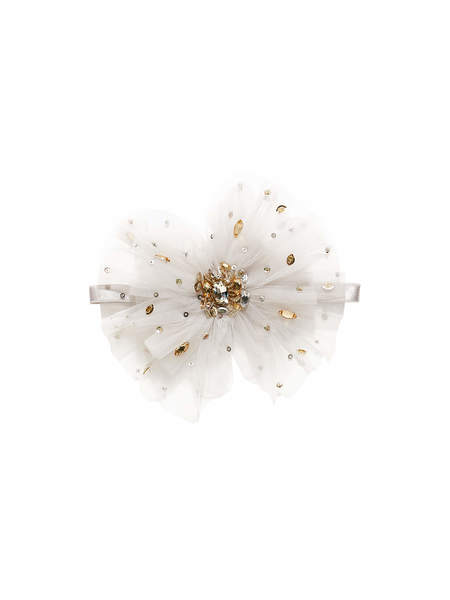 GLISTENING JEWELS HEADBAND - DOVE