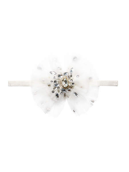 GLISTENING JEWELS HEADBAND - MILK