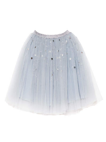 MIRROR MIRROR TUTU SKIRT - CRYSTAL BLUE