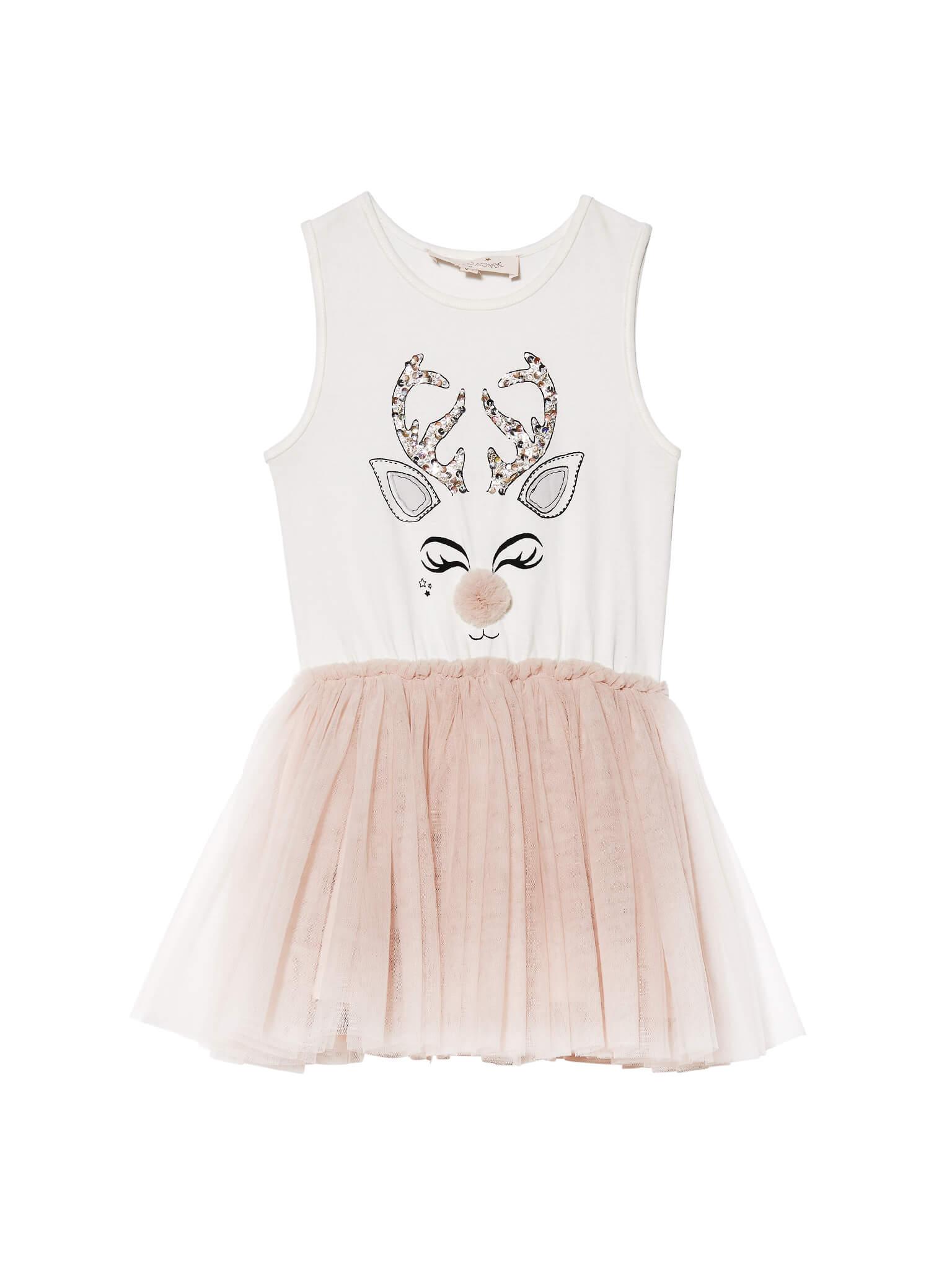 Tdm4313 reindeer tutu dress 01