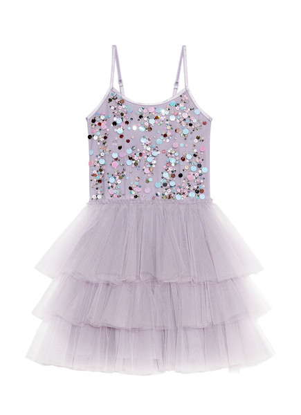 POPPING CANDY TUTU DRESS - ELDERBERRY