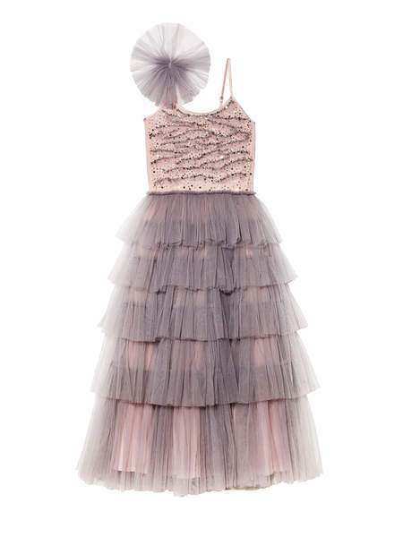 LOST IN WONDER LONG TUTU DRESS - SMOKE