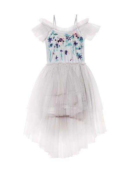 SPRING SPLENDOUR TUTU DRESS - FRENCH SILVER