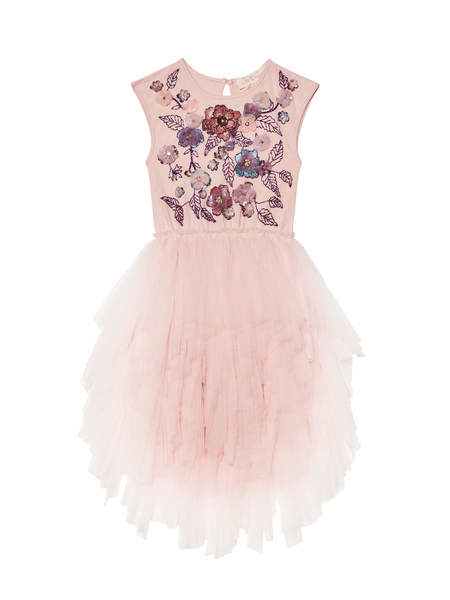 SHE BLOOMS TUTU DRESS - PORCELAIN PINK