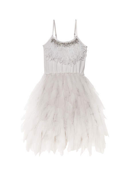 QUEEN OF GEMS TUTU DRESS - FRENCH SILVER