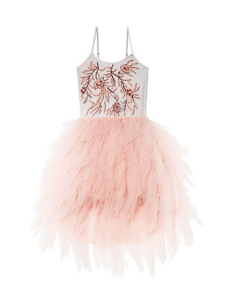 VERA TUTU DRESS - ANTIQUE ROSE