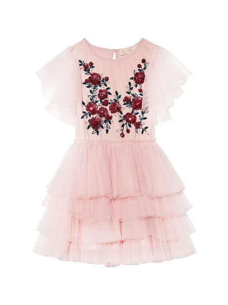 RUBY ROSES TUTU DRESS - PORCELAIN PINK