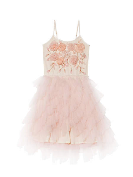 CHARMING BOUQUET TUTU DRESS - PORCELAIN PINK