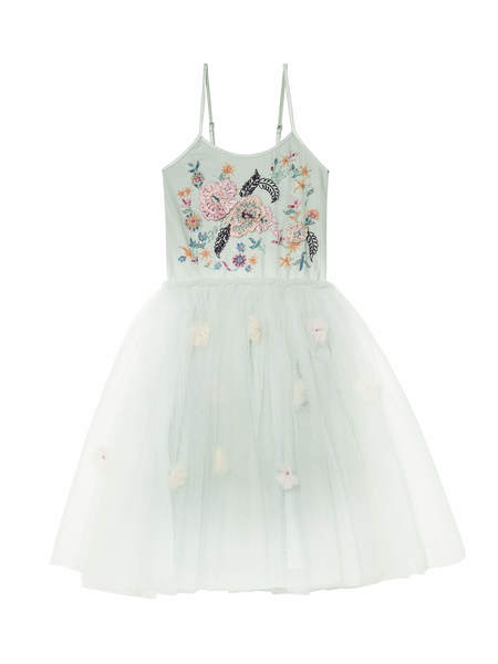 GARDEN PARTY TUTU DRESS - HONEYDEW