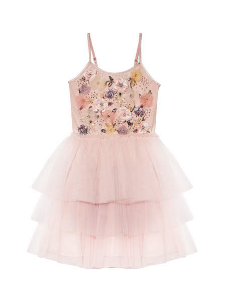 SPRING FRAGRANCE TUTU DRESS - PINK LEMONADE