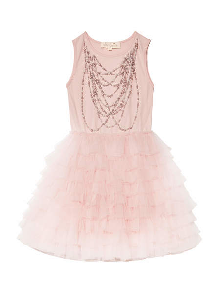 PRECIOUS PEARL TUTU DRESS - PORCELAIN PINK