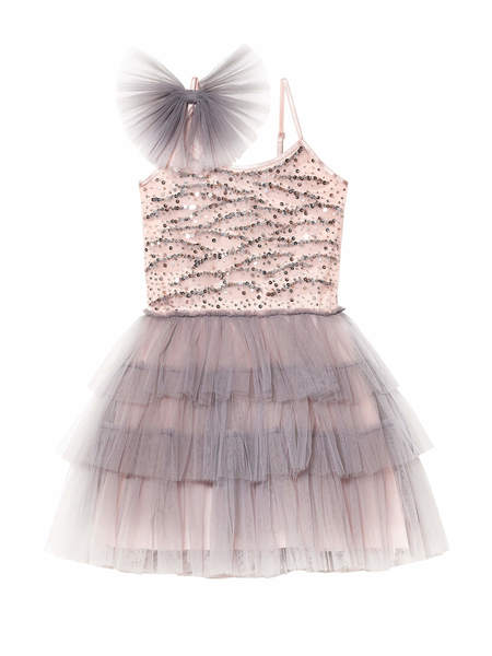 LOST IN WONDER TUTU DRESS - SMOKE