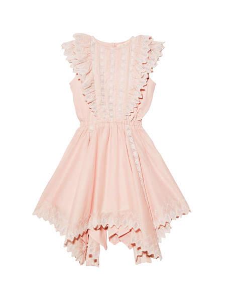 FLORENTINE DRESS - PORCELAIN PINK
