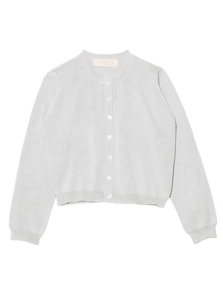 ANGELIC CARDIGAN - FRENCH SILVER