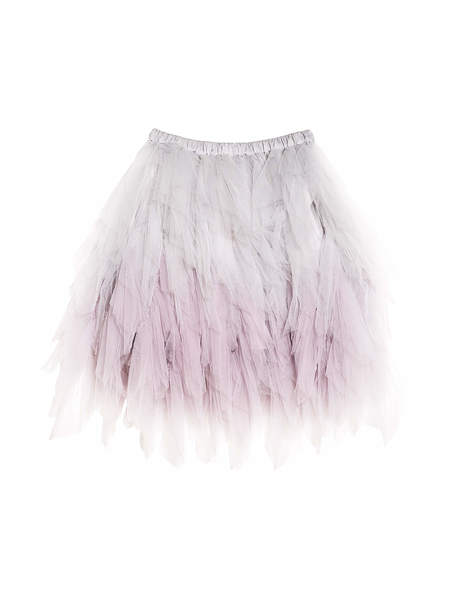 ODETTE TUTU SKIRT - FRENCH SILVER