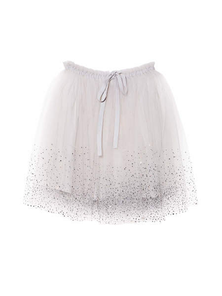 SERENDIPITY SKIRT - FRENCH SILVER