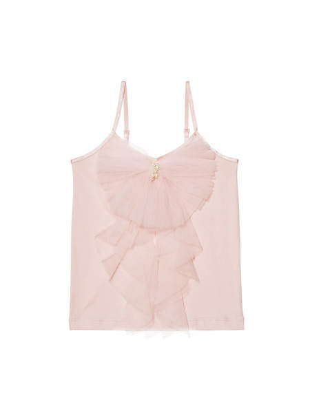 BELOVED RUFFLE TOP - PORCELAIN PINK