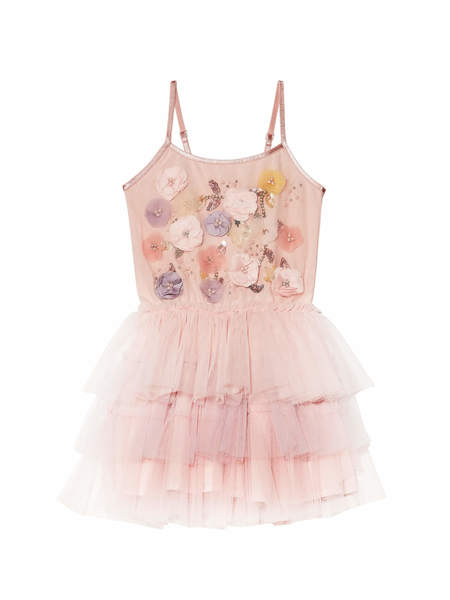 BÉBÉ - SWEET FRAGRANCE TUTU DRESS - PINK LEMONADE