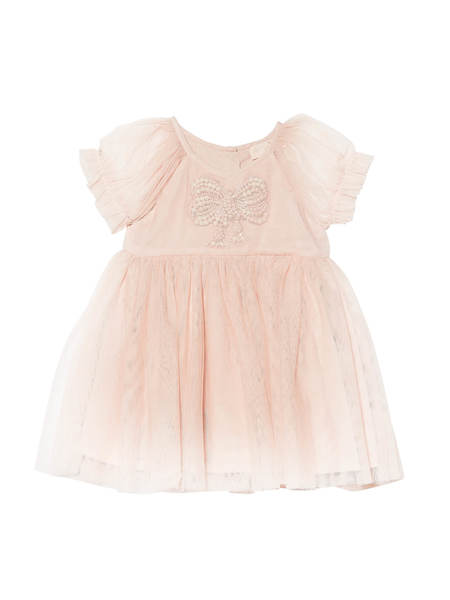 BÉBÉ - LITTLE MISS BLOSSOM DRESS - PINK LEMONADE