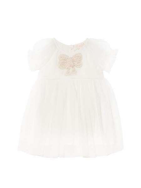 BÉBÉ - LITTLE MISS BLOSSOM DRESS - MILK