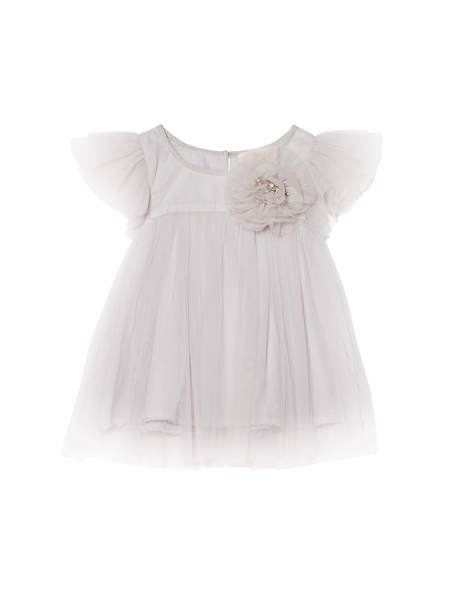BÉBÉ - PENNY DRESS - FRENCH SILVER