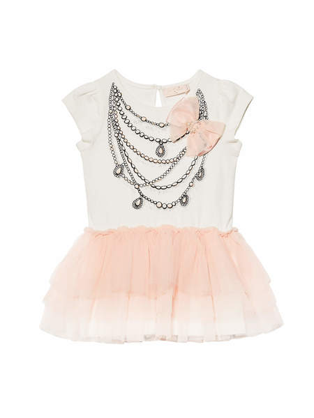 BÉBÉ - PERLA TUTU DRESS - MILK