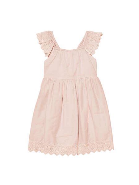 BÉBÉ - ARCADIA DRESS - ANTIQUE ROSE
