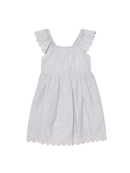 BÉBÉ - ARCADIA DRESS - FRENCH SILVER