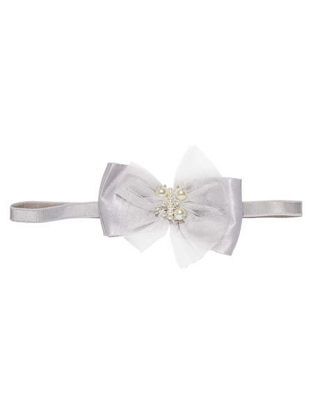 BÉBÉ - DARLING HEADBAND - FRENCH SILVER