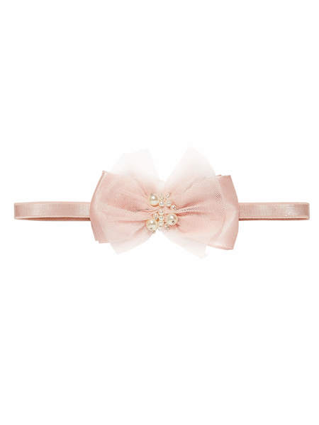 BÉBÉ - DARLING HEADBAND - PORCELAIN PINK
