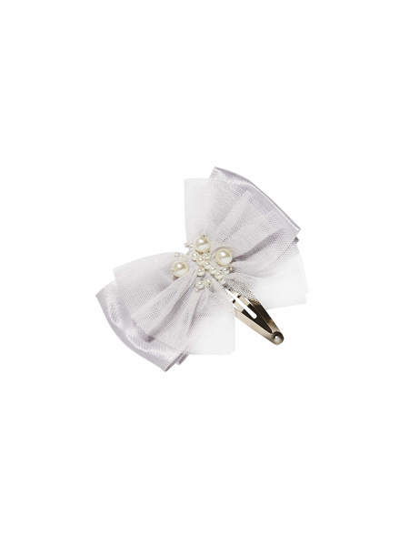BÉBÉ - DARLING HAIRCLIP - FRENCH SILVER